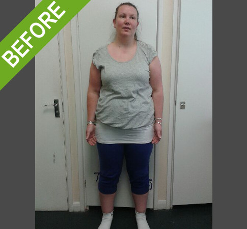 personal training client rachel-before