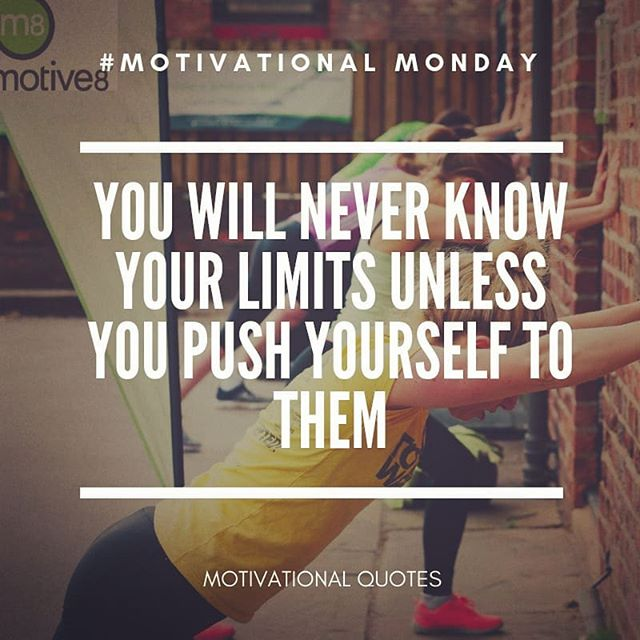 Happy Monday! Here's some more #wisewords for #motivationalmonday #pushyourself #findyourlimit #motive8north #motivation #motivationalquotes #gymlife #fitfam #personaltrainers #personaltraining
